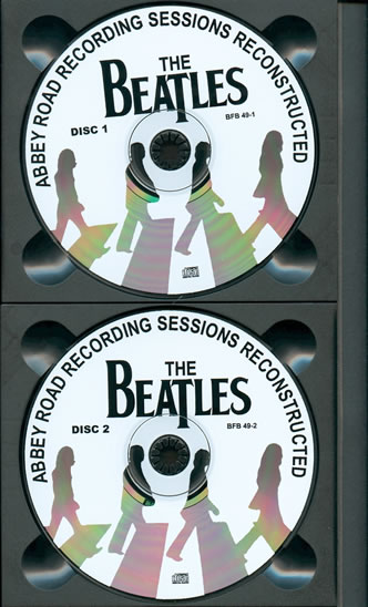 Abbey Road Recording Sessions Reconstructed Cd