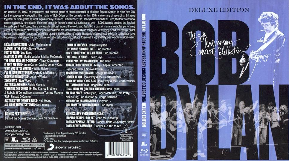 The 30th Anniversary Concert Celebration Blu Ray