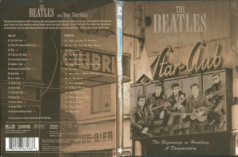 The Beatles Polska: Premiera nowego DVD - The Beatles With Tony Sheridan